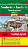 Santorini Island Pocket Travel Map Freytag & Berndt road maps are available worldwide for many countries and regions . In addition to the clear layout, the road map offers a variety of additional information such as Road surface, attractions, campsites a