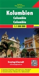 Colombia Travel & Road Map. Freytag & Berndt road maps are available for many countries and regions worldwide. In addition to the clear design, and shaded relief these road maps have a lot of additional information such as roads, sights, camping sites and