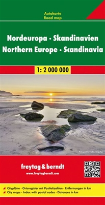 Northern Europe and Scandinavia Travel Map Freytag & Berndt road maps are available for many countries and regions worldwide. In addition to the clear design, and shaded relief these road maps have a lot of additional information such as; roads, sights,