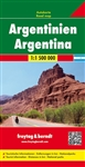 Argentina Travel & Road Map. Freytag & Berndt road maps are available for many countries and regions worldwide. In addition to the clear design, and shaded relief these road maps have a lot of additional information such as; roads, sights, camping sites a