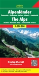 The Alps travel map - Austria Slovenia Italy Switzerland France. Freytag & Berndt road maps are available worldwide for many countries and regions. In addition to the clear layout, the road map offers a variety of additional information such as Road surfa