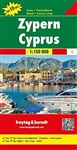 Cyprus travel map by Freytag & Berndt. A hard-backed road map of the island of Cyprus. Includes a tourist guide on reverse, detailed insets of Lefkosia, Larnaca, Pafos, Lemesos, Famagusta, Kyrenia, and plans of the ancient sites of Kourion & Salamis. In a