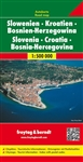 Croatia Slovenia and Bosnia-Herzegovina Travel Map Freytag & Berndt road maps are available for many countries and regions worldwide. In addition to the clear design, and shaded relief these road maps have a lot of additional information such as; roads,