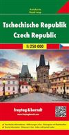 Czech Republic Travel Map Freytag & Berndt road maps are available for many countries and regions worldwide. In addition to the clear design, and shaded relief these road maps have a lot of additional information such as; roads, sights, camping sites and