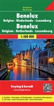 Benelux - Belgium Netherlands & Luxembourg Travel Map. Freytag & Berndt road maps are available for many countries and regions worldwide. In addition to the clear design, and shaded relief these road maps have a lot of additional information such as; road