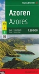 Azores Portugal Travel & Road Map. This large double-sided road map of the Azores shows the islands both individually and as a group and comes with an attached index and concise leisure guide booklet. This map shows main and minor roads, motorways and tol