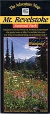 Mt. Revelstoke BC National Park map. This is made especially for hiking, canoeing and other outdoor activities and provides current information. It is easy to read and is waterproof. Includes a detailed information guide.