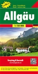 Allgau Germany Travel & Road Map. Freytag and Berndt maps are some of the nicest maps available. They are extremely detailed with great color and most of the maps have beautiful relief shading. Many of the maps are also double sided with photographs and t