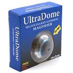 4X Magnifier by UltraDome 2.5 inch. This solid acrylic dome magnifier offers optical clarity by gathering light. It glides effortlessly across any surface for ease of use. View magnified objects from any distance, in perfect focus! UltraDome can be used i