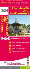 Aix-en-Provence City Plan France IGN