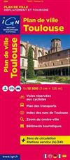 Toulouse City Plan France IGN