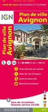 Avignon City Plan France IGN
