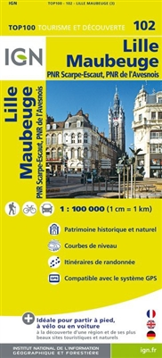 102 Lille Maubeuge IGN France