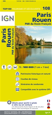 108 Paris Rouen IGN France