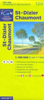 120 St Dizier Chaumont IGN France