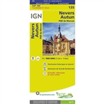 135 Nevers Autun IGN France
