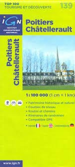 139 Poitiers Chatellerault IGN France