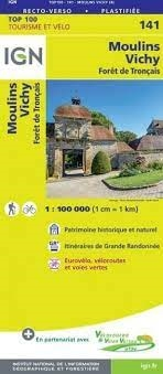 141 Moulins Vichy IGN France