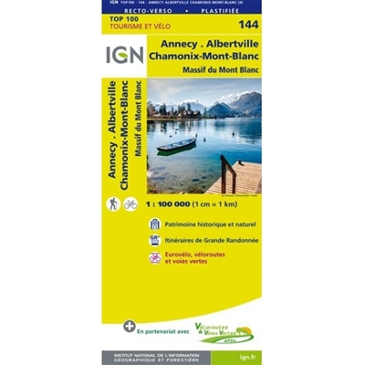 144 Annecy Thonon Les Bains IGN France