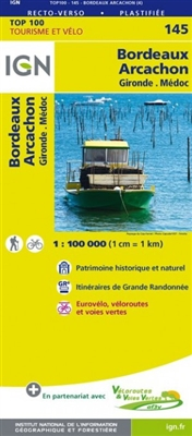 145 Bordeaux Arcachon IGN France