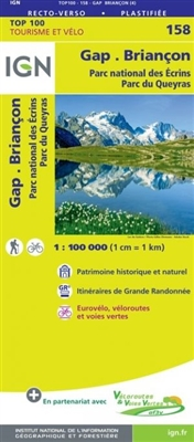 158 Gap Briancon IGN France