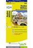 Rodez Millau - France map IGN162. The brand new revision of the IGN Top 100 maps - originally designed for cyclists they should appeal to anyone who wants to explore their holiday area of France in detail by walking, cycling or by car. IGN says the new To