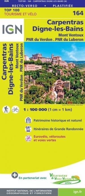 Carpentras France Map.164 Carpentras Digne Les Bains Ign France