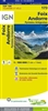 St-Gaudens Andorre France - Detailed Road Map. The brand new revision of the IGN Top 100 maps - originally designed for cyclists they should appeal to anyone who wants to explore their holiday area of France in detail by walking, cycling or by car. IGN sa