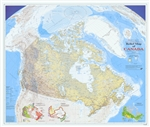 Relief Map of Canada Natural Resources Canada Wall Map