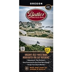 Oregon Motorcycle Map Butler