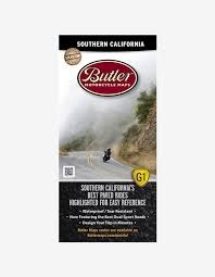 Southern California Motorcycle Map Butler