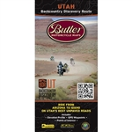 Utah Backcountry Motorcycle Map. The Utah Backcountry Discovery Route bu Butler is a waterproof scenic driving route map that will take you across the state of Utah, from Arizona to Idaho, for dual-sport adventure motorcycles and 4 by 4 vehicles.