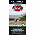 Maine & the Maritimes G1 Motorcycle Map. Maine, Nova Scotia, Prince Edward Island and the rest of the Maritimes await. Here is your map, its time to do this! The Butler Maps team rode over 39,000 miles into every nook and cranny of the region in search of