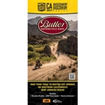 California South Backcountry Discovery Motorcycle Map. The map is the ninth route created for dual-sport and adventure motorcycle travel and the first wintertime BDR. This spectacular, yet challenging, 820 mile ride across the Southeastern region