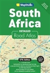 South Africa Road Atlas by MapStudio is completely revised and updated to suit your needs. It now includes all satellite towns and provides GPS co-ordinates for major road junctions. It provides 34 pages of detailed topography in a continuous map section
