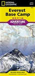 Everest Base Camp National Geographic Adventure Map. National Geographic's Everest Base Camp Adventure Map is designed to meet the unique needs of adventure travelers, highlighting hundreds of points of interest and the diverse and unique destinations