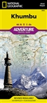 Khumbu National Geographic Adventure Map