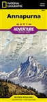Annapurna National Geographic Adventure Map