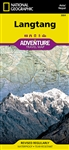 Langtang National Geographic Adventure Map