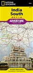 India South National Geographic Adventure Map