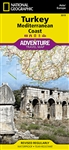 National Geographics Turkey Mediterranean Coast Adventure Map is designed to meet the unique needs of adventure travelers with its durability and accurate information. This folded map provides global travelers with the perfect combination of detail and pe