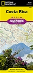 National Geographics Costa Rica Adventure Map is designed to meet the unique needs of adventure travelers highlighting hundreds of points of interest and the diverse and unique destinations within the country.