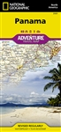 Panama National Geographic Adventure Map