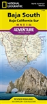 Baja South National Geographic Adventure Map
