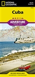 Cuba National Geographic Adventure Map