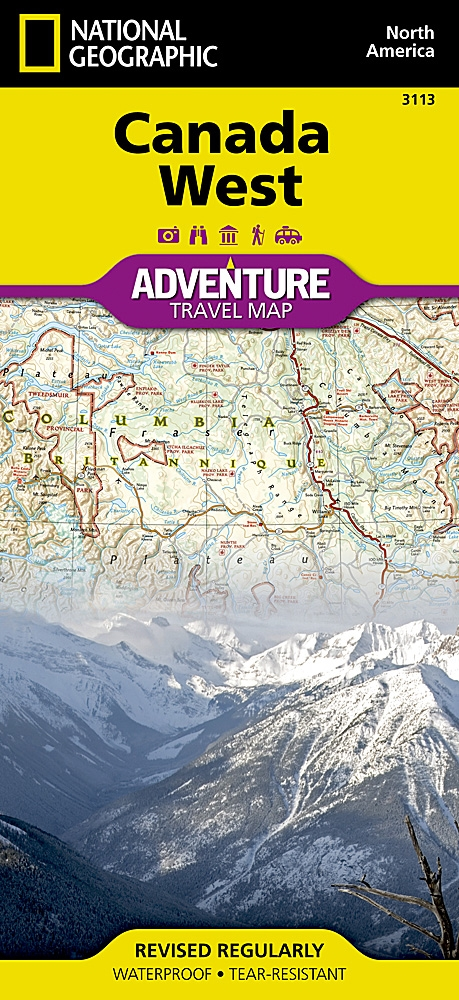 Canada west national geographic adventure map gumiabroncs Image collections
