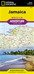 Jamaica National Geographic Adventure Map