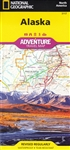 National Geographics Alaska Adventure Map is designed to meet the unique needs of adventure travelers with its durability and detailed, accurate information. The map includes the accurate locations of all cities and towns with a user-friendly index, plus