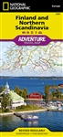 Finland and Northern Scandinavia National Geographic Adventure Map