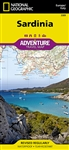 Sardinia National Geographic Adventure Map
